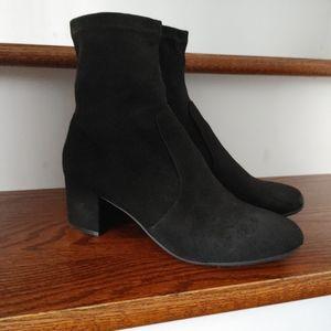 Steve Madden Irven black ankle boots size 8.5